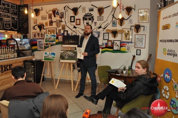 Konferencja ws. plebiscytu na koncepcję architektoniczną nowej elektrociepłowni w Olsztynie